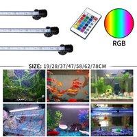 Gako Aquarium luz RGB LED Bar Luz à prova d 'água luz subaquática aquário lâmpada para peixes tanque coral recife decoração iluminação y200917