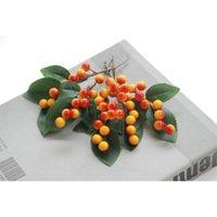 Simulazione Frutta Branch Berries Artificiali Decor Impianto falso Pianta FAI DA TE Plastica Handmade Shooting Puntelli Decoration Berries