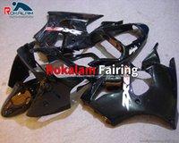 Aftermarket Kit Fairing 00 01 02 ZX-6R For Kawasaki Ninja ZX6R 2000 2001 2002 Black Sport Bike Fairings Kits (Injection Molding)