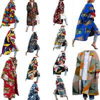 Женщины Pluis размер шерстяные смеси падение зимняя одежда теплые пальто сгущает кардиган сексуальный клуб куртка отворот шеи длинная толстовка геометрический тренажерный зал 0745
