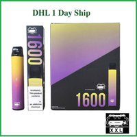 Großhandel DHL 1 Tag Freies Schiff Sechs Seris E Zigarette Multi Flavors Einweg-Vape Pen Puff Bar Plus XXL Xtra Xtia Romio Zerstäuber Kit AIRFLOW CONTROL HYPE ELECPOD