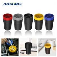 Aoshike Universal سيارة تخزين مربع أربعة في واحد حامل بطاقة عملة متعددة الوظائف سلة المهملات منظم السيارات أكياس السيارات الملحقات 1