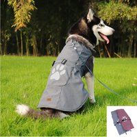 New Pet Dog Clothes Big Large Dog Winter Warm Jacket Coat Soft Warm Fleece Vest Apparel Dog Clothing Ropa Para Perros T200101