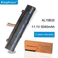KingSener AL15B32 Laptop Battery For ACER Aspire V15 DG2 V5-591G V5-591 Series T5000-73CF T5000-50HZ N15Q12 11.1V 5040mAh