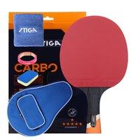 جديد وصول STIGA 6 نجوم مضرب تنس الطاولة Dedouble البثور في المطاط بينغ بونغ مضرب تنيس دي ميسا تنس الطاولة 201116