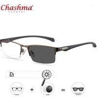 Chashma Переходные Солнцезащитные очки Фотохромные Очки для чтения Мужчины Женщины Пресбиопия Очки Солнцезащитные очки с Диоптами Очки1