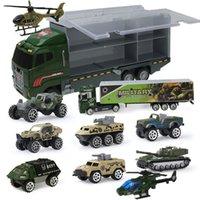 كبير شاحنة الأطفال لعبة سيارة النار شاحنة هندسة مركبة عسكرية نموذج مصغرة دييكاست سبيكة سيارة بوي لعبة هدية Q1217