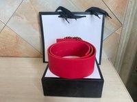 2020 Cinturones de alta calidad clásicos de alta calidad Wholesale Ancho 7 cm Figura agradable Cinturón de cinturón de cinturón con caja de regalo Opciones de estilo múltiple
