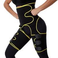 Kadınlar Sıcak Ter İnce Uyluk Düzeltici Bacak Şekillendirme Firma Kontrol Bel Eğitmen Pantolon Neopren Isı Sıkıştırın Kirdle1