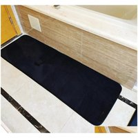Stylish Head Bedroom Mats Classic Letter Kitchen Mats Anti-slip Bath Accessories Quick Dry Bathroom Cover sqcnDj wphome