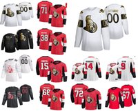 Golden Edition Ottawa Senators Hockey jerseys 16 Austin Watson 44 Erik Gudbranson 30 Matt Murray 3 Josh Brown Brady Tkachuk cosido personalizada