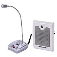 Walkie Talkie Dual-Way Window Window Interphone Microfono Microfono Talk-Back System Bank Office Counter Biglietto in contanti Intercom 220 V YX-118