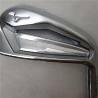 새로운 골프 클럽 JPX919 골프 아이언 4-9 P G 단조 아이언 세트 클럽 스틸 샤프트 R / S 플렉스 골프 샤프트 무료 배송