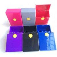 Paquet complet 20 pièces Coque en plastique Boîte de rangement Boîte de rangement Porte-Capacité multiple Couleurs Accessoires fumeurs Outil