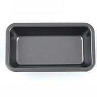 6-дюймовый выпечки буханка сковородка углеродистая стальная тоста коробка сырная ящик для выпечки жареный прямоугольный нелегкий пирог маленький тостный хлеб торт плесень VT2014