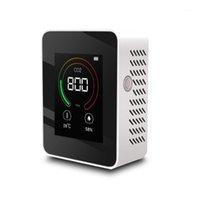 음주 측정기 가스 검출기 가스 분석기 가정용 공기 품질 검출기 C02 온도 습도 테스터 LCD 디스플레이 CO2 MONITOR1