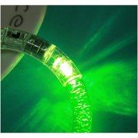 LED Glitter Glow Braccialetto Braccialetto Flash Light Stick Acrilico Cristallo Gradiente Anello A Mano Bangle creativo Party di Natale S Jlloyh Lajiaoyard