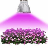 Toptan Phyto Lambaları Tam Spektrum E27 LED Bitki Işık Büyümek Lambası E14 Bitkiler için LED 18 W 28 W Fitolampy Sera Çadır Ampuller