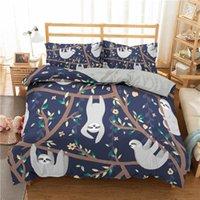 Set di biancheria da letto del fumetto Set 3D Bracciale Stampato con piumino stampato 2 / 3pc Bedclothes con federa Copriletto per la casa Textiles1