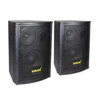 Soundbar 1 paio di altoparlante passivo in legno 2.0 Altoparlanti professionali Doppia 6,5 pollici KTV Audio