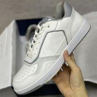 الرجال B27 المائل حذاء مصمم أحذية رياضية المرأة السامية أعلى عداء المدربين أعلى جودة جلد طبيعي منخفض أعلى أحذية الدانتيل متابعة مع صندوق 258