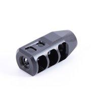 1 / 2x28 .223 UNEF Thread Freno di museruola nera in acciaio ad alta resistenza