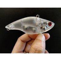 Gyfishing 20 adet Boyasız Balıkçılık LiPless Vib Hızlı Batan Boşluklar Sert Yemler Tuzaklar Lures Vücut 201104