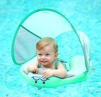 Çocuklar Bebek Yüzme Ringswith Gölgelik Yüzme Yüzük ile Güneş Gölge Yok Bebek Yüzme Aksesuarları için Hiçbir Şişme Yüzer Yüzme Yüzük 529 J1210 UAZMF