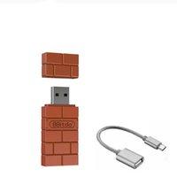 Adaptador Bluetooth inalámbrico USB de 8 bitDo para Windows Mac Raspberry Pi Nintendo Switch Support PS4 Xbox One Controller para Switch
