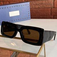 2021 إمرأة سميكة ورقة نظارات الإناث النساء النظارات الشمسية 0811 ثانية لوحة لوحة الإطار عدسات البيضاوي في سمكة مرآة الساق تصميم النظارات 0811