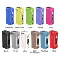 Auténtico Yocan Uni Pro Box Mod Batería con pantalla OLED 650mAh Precalentamiento VV VAPE Caja 100% original