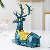 2020 Новый продукт Креативный смола ремесла дома мебели европейского дома стиль меблировки оленьи ТВ шкаф винный шкаф украшения подарки