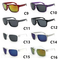 レトロな熱いサングラスの男性ブランドデザイナースクエアミラーレンズサングラスユニセックスクラシックスタイル女性UV400保護レンズMOQ 12ペア