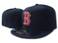 2021 Бостон Сити мужская команда бейсбол полные закрытые шапки летний военно-морской синий красный B Питание Gorras кости мужчины женщин повседневные открытый спорт плоские фасованные шляпы в размере 7- Размер 8