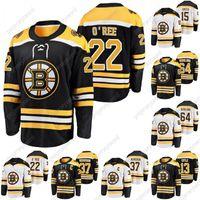 Boston Bruins Patrice Bergeron 2021 Captain Jersey Willie O'Ree Charlie Coyle Craig Smith Victor Berglund John Beecher Karhlman Jersey