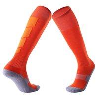 Унисекс взрослые полосатые футбольные бейсбольные футбольные носки утолщены на колено лодыжки спортивные длинные носки для девушки женщин высокие чулки
