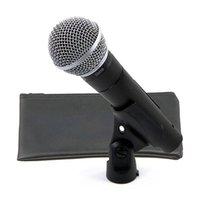 Microfone vocal dinâmico SM58s com interruptor e desligado vocal vocal karaoke karaoke handheld microfone de alta qualidade para o palco e uso doméstico com caixa de varejo