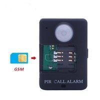 Smart Home Sensor Leshp A9 Mini PIR сигнализация Инфракрасный GSM Беспроводная высокая чувствительность мониторинга Мониторинг движения Противоугонная вилка EU