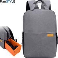 حقيبة ظهر كاميرا سوداء حقيبة سفر الفتيان حقيبة كاميرا DSLR محمول حقيبة ل عدسة ترايبود اكسسوارات للماء Rucksack1