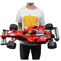 RC 1: 6 Fórmula Super Racing Control Remoto Modelo de deporte 4 Neumáticos de repuesto Recargable Coche Electrónico LJ200919