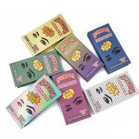 Embalagem de pílulas por atacado 7 cores retângulo cílios Caso Novas caixas de chicote com bandejas Bulk 25mm Mink Lashes caixa de embalagem