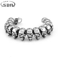 SDA High Quality 316L Stainless steel Casting Bracelet Cool ...