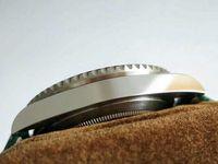 Neue Ankunft Luxus Herrenuhr Grüne Farbe Mit Diamant Herrenuhren Automatische Bewegung Mechanische Uhren Lederband Armbanduhr