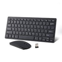 Keyboard Souris Combos 2.4G Souris de souris ultra-mince ultra minces ultra minces pour Windows / Mac Home Office Game1