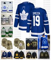 2021 Retro Retro Personalizar # 19 Jason Spezza Toronto Maple Leafs Jerseys Golden Edition Camo Veteranos Día Fights Cancer Hockey Jersey