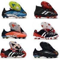 Sapatos Predator modificador 20 + FG Predator Arquivo Limited Edition mais novos dos homens deslizamento-On Futebol Futebol 20 + x chuteiras Botas predador mania
