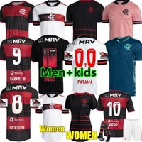 2020 Flamengo Fussball Jersey de Arramaeta Gabriel Barbosa Football Hemden Kinder Kit Gerson B.Henrique Uniform Camisa Flamengo Feminina 20/21