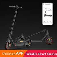 EE. UU. EE. UU. Ningún impuesto Control de aplicación Plegable Scooters eléctricos 8,5 pulgadas Dos ruedas Bicicleta eléctrica Scooter 7 días Entrega Fordable Bicicleta eléctrica