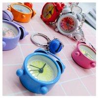 Sevimli Mini Saat Anahtarlık Karikatür Anahtarlık Küçük Çalar Saat Anahtarlık Yaratıcı Hediye Kolye Çift Anahtarlık Güzel Çanta Aksesuarları En Satış