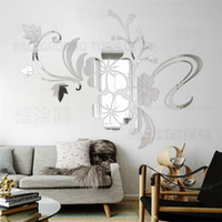 Mirror Wall Stickers Sticker Room Decoration Decor Bedroom H...